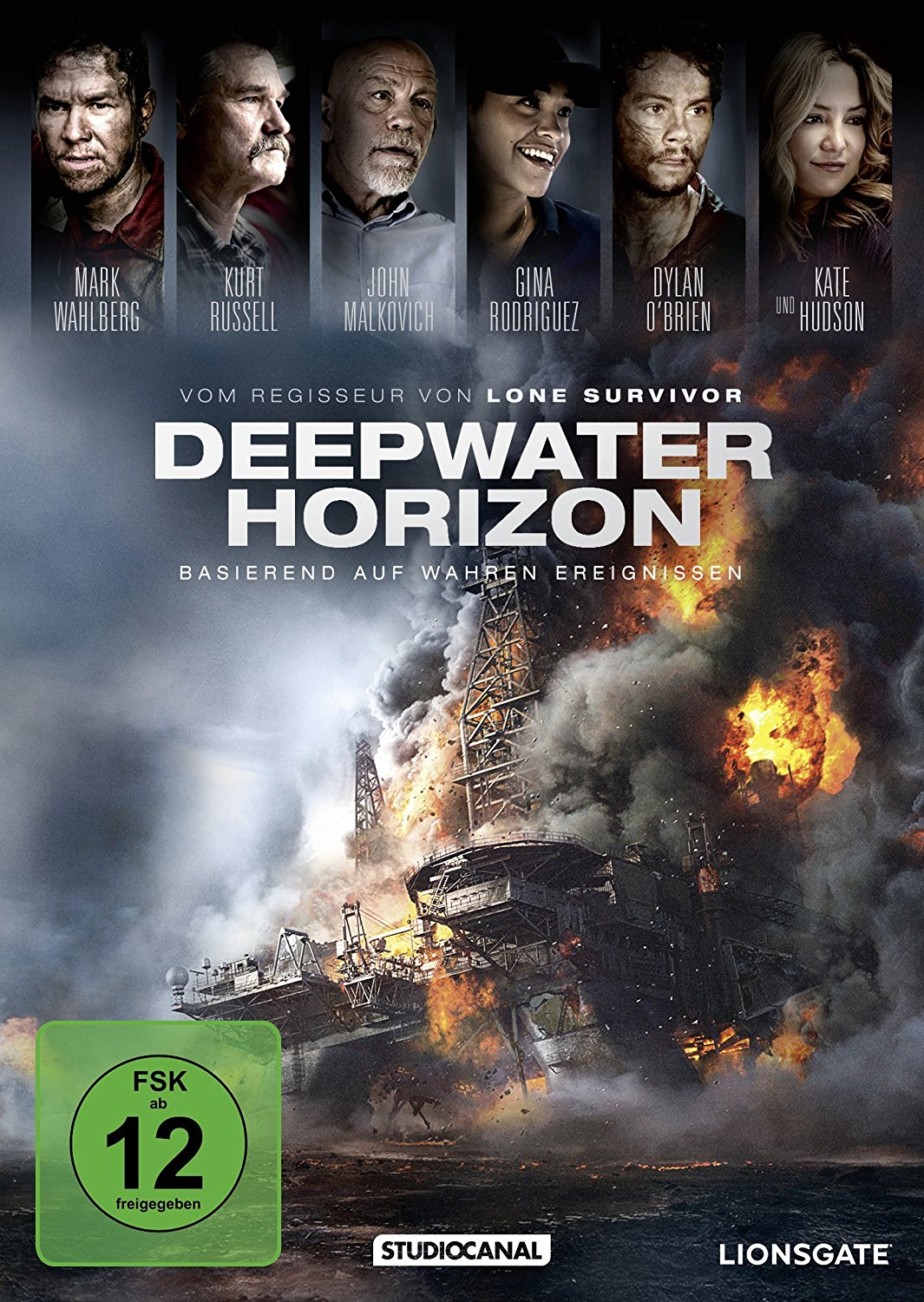 Deepwater Horizon DVD Cover