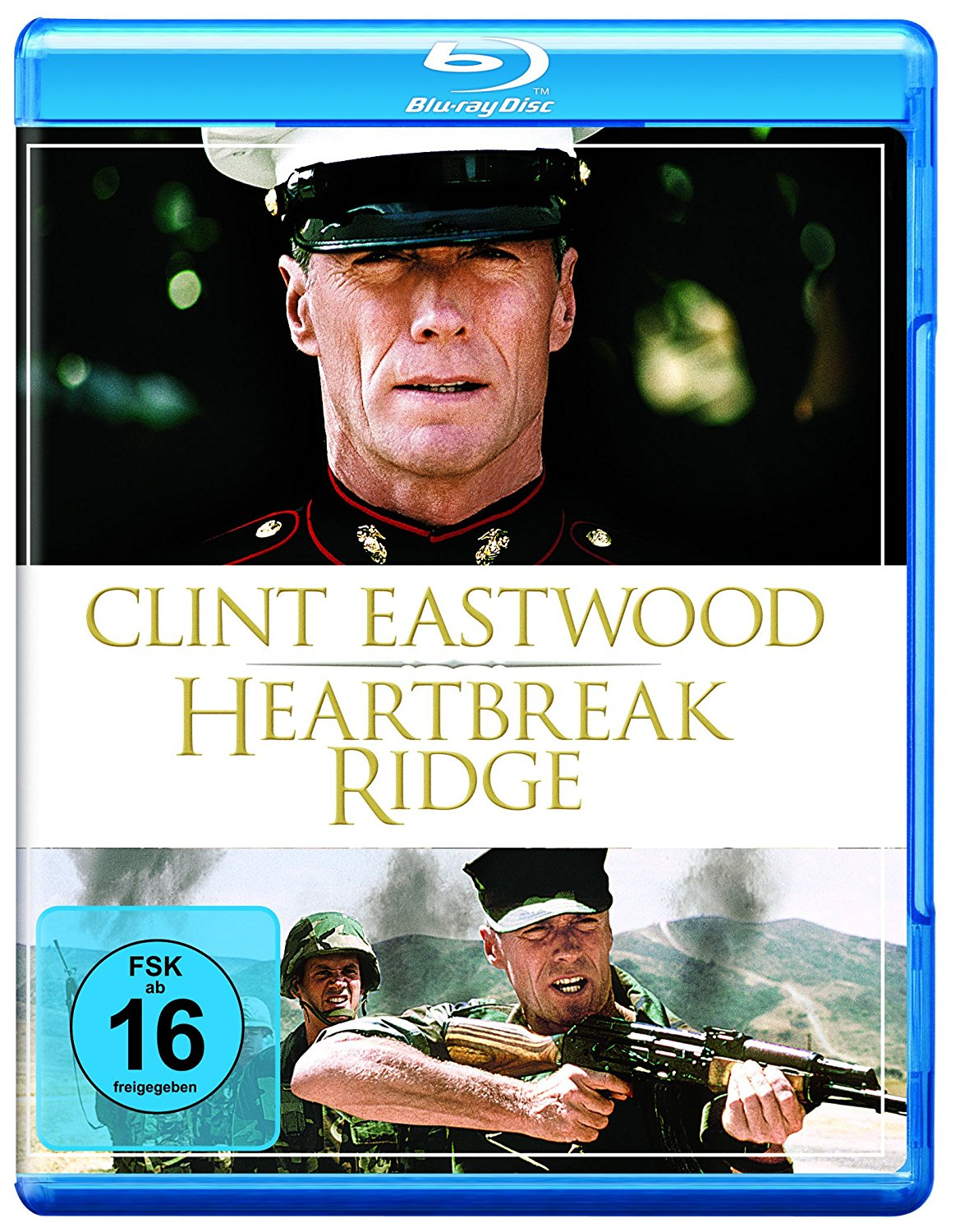 Heartbreak Ridge DVD Cover