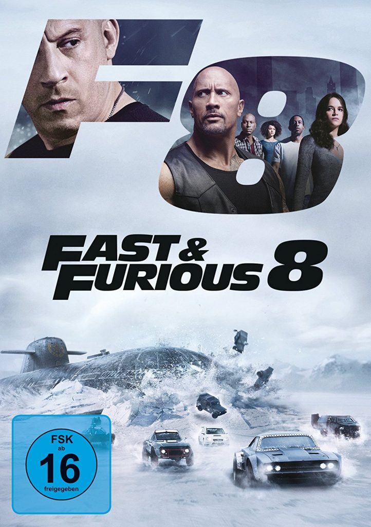 Fast & Furious 8 Cover