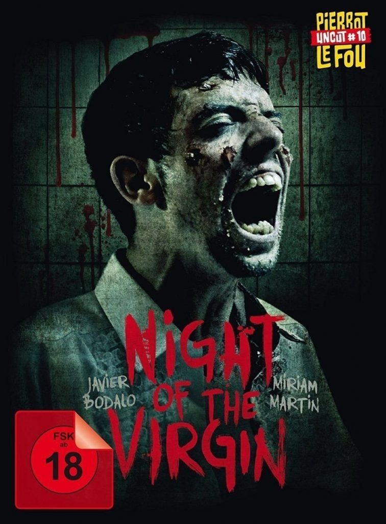 The Night of the Virgin Mediabook