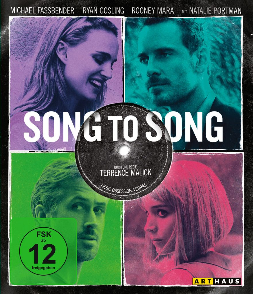 Song to Song Bluray